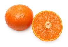 раздел мандарина отверстия плодоовощ Стоковое Изображение RF