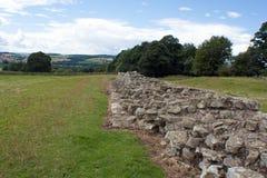 Раздел стены Hadrians Стоковые Фотографии RF