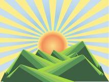 Раздел app; e Красочная иллюстрация на белизне Стоковое фото RF
