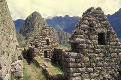 раздел picchu Перу machu селитебный стоковые изображения rf