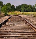 раздел railway гавани Стоковое Изображение