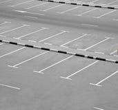 раздробите стоянку автомобилей на участки Стоковое Изображение