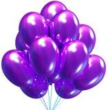 раздувает партия украшения дня рождения Стоковое Изображение