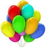 раздувает партия украшения дня рождения Стоковая Фотография