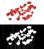 раздувает форма влюбленности сердца летания eps8 вы бесплатная иллюстрация
