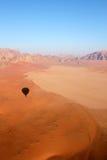 раздуйте вади рома ландшафта пустыни Стоковая Фотография
