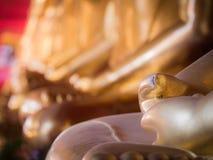 Раздумье Будды ювелирных изделий ногтя сидя Будда сперва Стоковые Фото