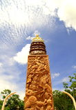 раздумье s Таиланд Будды Стоковое Фото