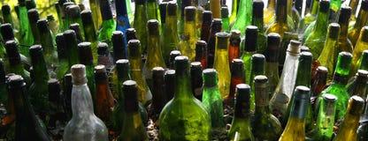разлейте сообщение по бутылкам Стоковые Изображения
