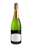 разлейте шампанское по бутылкам Стоковое Фото