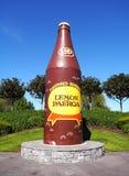 разлейте dring по бутылкам огромный l p стоковое фото rf