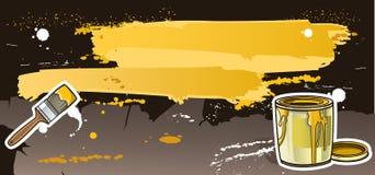 Разленная темнота краски Стоковые Фото