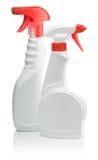 разливает брызг по бутылкам кухни Стоковые Изображения RF