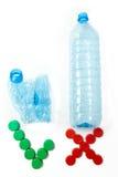 разливает eco по бутылкам Стоковое Изображение RF