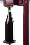 разливая по бутылкам вино Стоковая Фотография RF