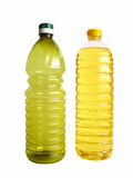 разлитое по бутылкам масло Стоковые Фотографии RF