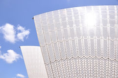 различная перспектива Сидней оперы дома Стоковое фото RF