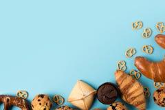 Различное домодельное печенье Стоковые Изображения