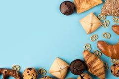 Различное домодельное печенье Стоковые Фотографии RF