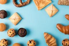 Различное домодельное печенье Стоковое Фото