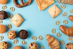 Различное домодельное печенье Стоковые Фото