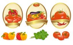 различное золото обозначает 3 овоща бесплатная иллюстрация