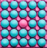 Различное творческое изобразительное искусство, пастельные яичка Стоковое Изображение RF
