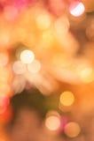 Различное boke цвета Стоковые Фотографии RF