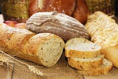 Различные виды хлеба Стоковые Фотографии RF