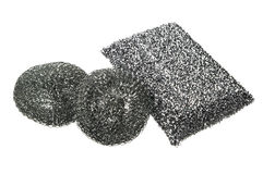 различные губки металла кухни Стоковые Фотографии RF