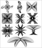 различные диаграммы Стоковое фото RF