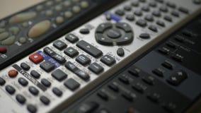 Различные дистанционные управления ТВ с кнопками сток-видео