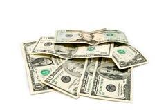 различные доллары примечаний Стоковая Фотография RF