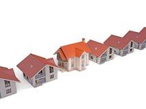различные дома Стоковая Фотография RF