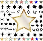 Различные звезды Стоковое фото RF