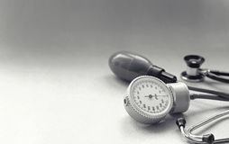 Различные инструменты медицинской предпосылки Стоковое Изображение RF
