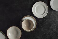 Различные керамические плиты Стоковые Изображения RF