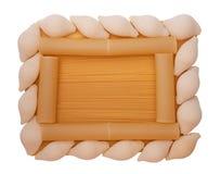 различные макаронные изделия рамки Стоковые Фото