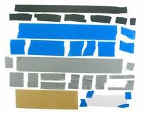 Различные образцы ленты Стоковые Фото
