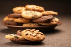 Различные печенья Стоковое Изображение