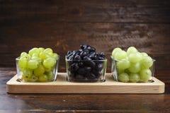 Различные разнообразия виноградины Стоковые Фотографии RF