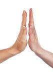 Различные руки и ладони знаков Стоковое Фото