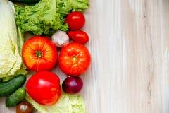 различные свежие овощи Стоковое Изображение RF