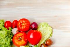 различные свежие овощи Стоковые Фото