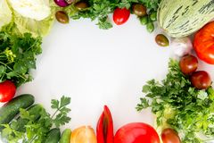 различные свежие овощи Стоковое фото RF