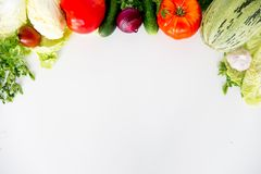 различные свежие овощи Стоковое Изображение