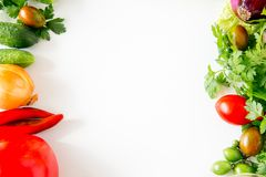 различные свежие овощи Стоковая Фотография RF
