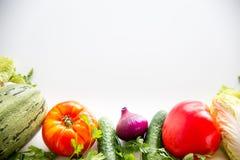 различные свежие овощи Стоковые Изображения RF