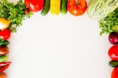различные свежие овощи Стоковое Фото