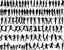 различные ситуации людей Стоковое фото RF